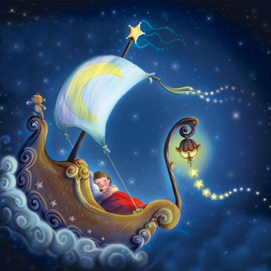 Картинки про сны красивые